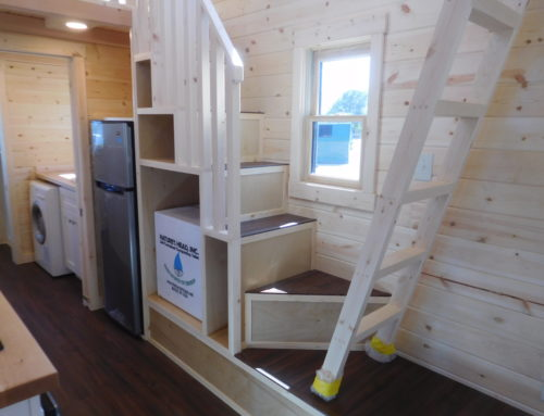 Ladders vs Stairs in Tiny Homes