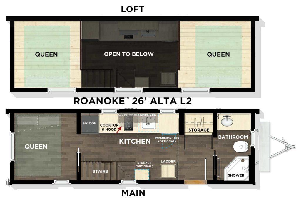ROANOKE™ 26' Alta L2