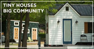 Tiny House Community Parking
