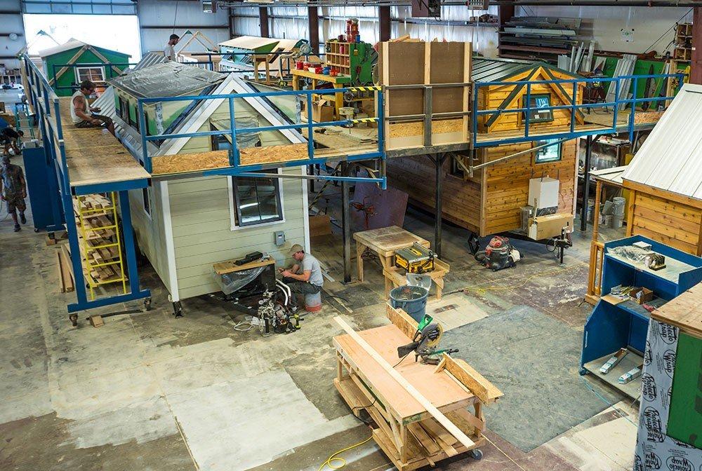 Tumbleweed Tiny House Company Factory