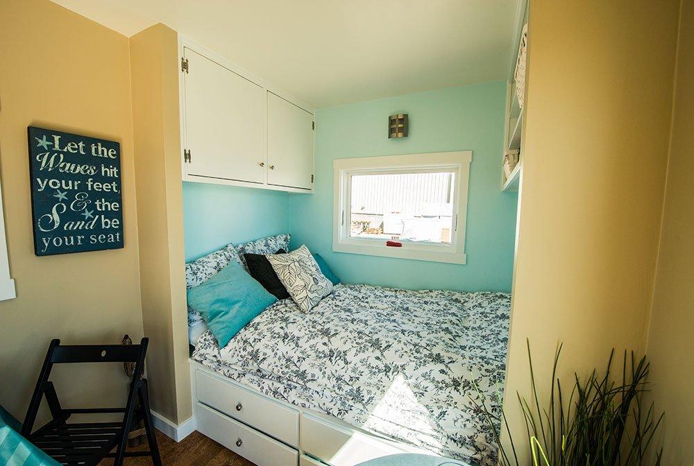 Tumbleweed Tiny House Sleeping Spaces